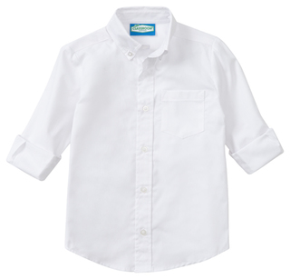 Mens Long Sleeve Oxford-Classroom Uniforms