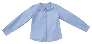 Junior Long Sleeve Peter Pan Blouse-Classroom Uniforms