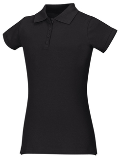 Girls Stretch Pique Polo-