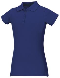 Girls Stretch Pique Polo-Classroom Uniforms