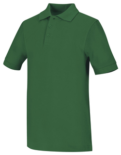 Adult Unisex Short Sleeve Pique Polo-Classroom Uniforms