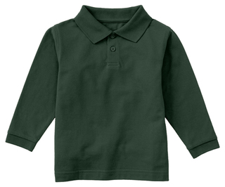 Preschool Long Sleeve Pique Polo-Classroom Uniforms