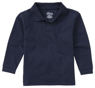Youth Unisex Long Sleeve Pique Polo-Classroom Uniforms