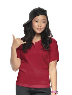 Youth Unisex Moisture-Wicking Polo Shirt-Classroom Uniforms