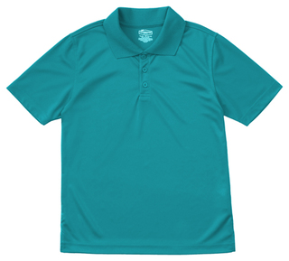 Adult Unisex Moisture-Wicking Polo Shirt-Classroom Uniforms