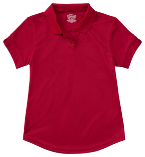 Junior S/S Polo Moisture Wicking-Classroom Uniforms