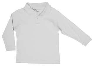 Preschool Unisex LS Interlock Polo-