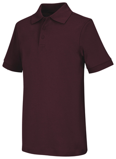 Adult Unisex Short Sleeve Interlock Polo-