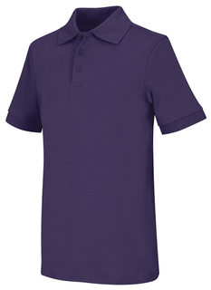 Adult Unisex Short Sleeve Interlock Polo-Classroom Uniforms