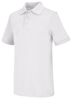 Adult Unisex Short Sleeve Interlock Polo-Classroom Uniforms