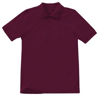 Preschool Unisex Short Sleeve Pique Polo-