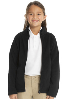 Girls Fitted Polar Fleece Jacket-