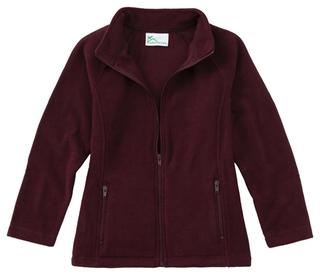 Junior Fitted Polar Fleece Jacket-