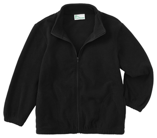 Adult Unisex Polar Fleece Jacket-Classroom Uniforms