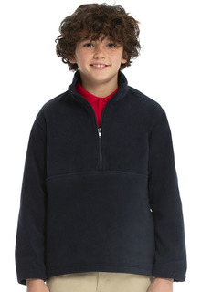 Youth Unisex Polar Fleece Pullover-Classroom School Uniforms