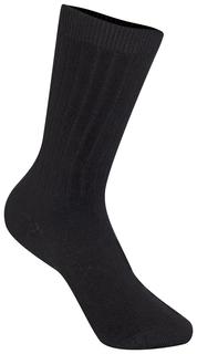 Unisex Rib Crew Socks 3 PK-