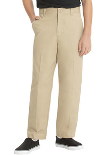 Real School Boys Flat Front Pant-