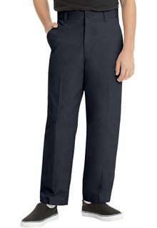 Mens Flat Front Pant-Real School Uniforms