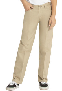 Girls Low Rise Adj. Waist Pant-