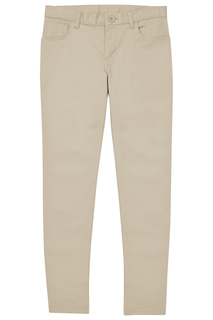 Girls 5-Pocket Stretch Skinny Pant-Real School Uniforms