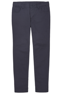 Juniors 5-Pocket Stretch Skinny Pant-Real School Uniforms