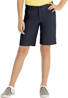 5 PKT STRETCH CITY SHORT-Real School Uniforms