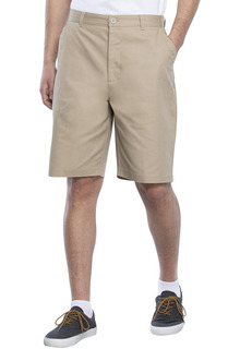 Real School Boys Husky Flat Front Short-