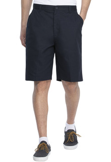 Real School Boys Husky Flat Front Short-Real School Uniforms