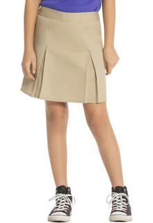 Classroom School Uniforms Hospitality Preschool Pleat Front Scooter-Real School Uniforms
