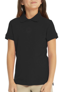 68002 Short Sleeve Fem-Fit Polo-Real School Uniforms