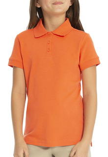 68004 Short Sleeve Fem-Fit Polo-Real School Uniforms