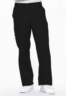 Mens Zip Fly Pull-On Pant-