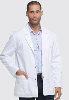 "31"" Mens Snap Front Lab Coat-"