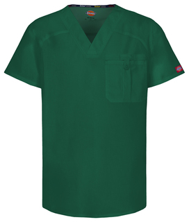 81714A Mens V-Neck Top-Dickies Medical