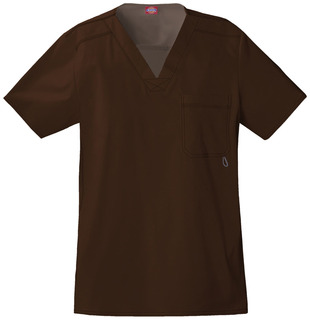 81722 Mens V-Neck Top-Dickies Medical