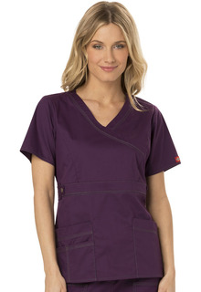 817355 Mock Wrap Top-Dickies