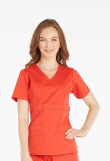 Gen Flex Mock Wrap Womens Top by Dickies-Dickies