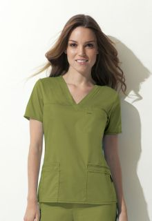 GenFlex V-Neck Womens Top by Dickies