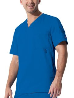 """Youtility"" Mens V-Neck Top-Dickies"