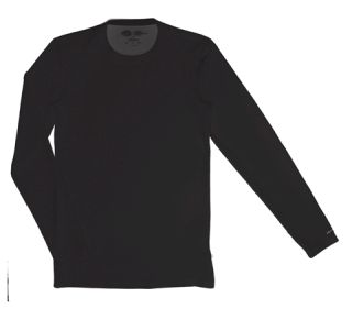 Mens Long Sleeve Crew Neck Shirt-Dickies Medical