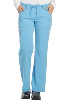 Xtreme Ladies Mid Rise Drawstring Cargo Scrub Pants - Dickies 82011-Dickies Medical