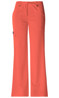 Xtreme Ladies Mid Rise Drawstring Cargo Scrub Pants - Dickies 82011-