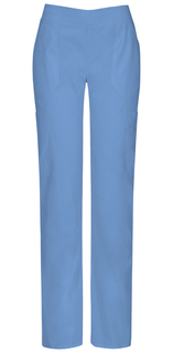 Dickies EDS Signature Stretch Mid-Rise Moderate Flare Leg Pull-On Scrub Pants with Certainty-Dickies Medical