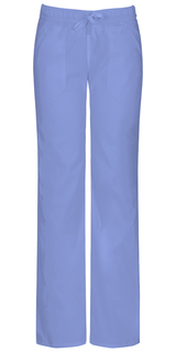 82212A Low Rise Straight Leg Drawstring Pant-