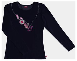 """Love"" Long Sleeve Crew Neck Knit Tee"