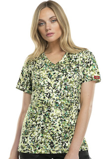 82724 Mock Wrap Top-Dickies Medical