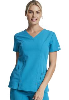 Dickies Xtreme Secure Snap Tab Cell Phone Pocket Scrub Top - 82851-Dickies