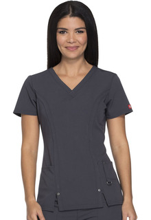 Xtreme Ladies V-Neck Top - Dickies 82851-