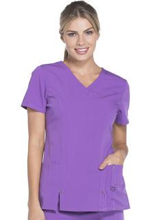 Xtreme Ladies V-Neck Top - Dickies 82851-Dickies Medical