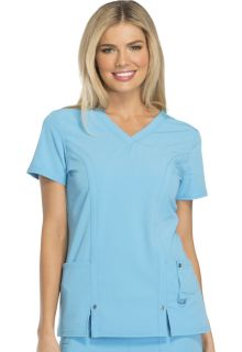 Xtreme Ladies V-Neck Top - Dickies 82851-Dickies